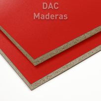 Melamina s/Aglo 18mm 040 Rojo 275x183cm