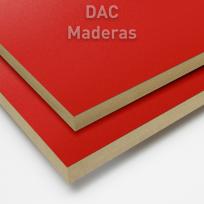 Melamina s/mdf 18mm 040 Rojo 275x183cm
