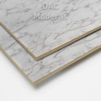 Fondo s/Fibro 5,5mm 1 cara Carrara 2,60x1,83cm