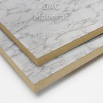 Melamina s/Fibro 18mm Carrara 260x183cm