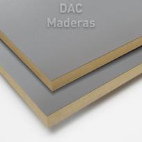 Melamina s/Fibro 18mm Aluminio 260x183cm