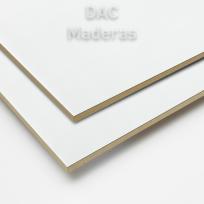 Melamina s/Fibro 05,5mm 1 cara Blanco 260x183cm