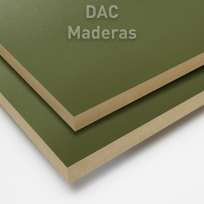 Melamina s/Fibro 18mm Verde Oliva 260x183cm