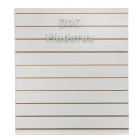 Panele Ranurado Blanco 18mm 260x183cm