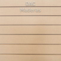 Panel Ranurado MDF Crudo 18mm 2,60x1,83cm