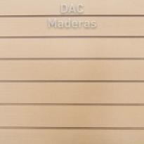 Panel Ranurado MDF Crudo 18mm 2,60x1,83cm