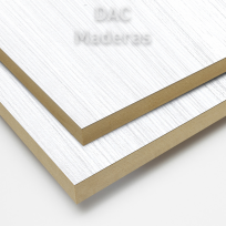 Melamina s/mdf 18mm 135 Blanco Nature 275x183