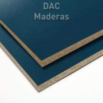 Melamina s/Aglo 18mm Azul Acero Laca 260x183cm