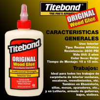 Adhesivo TITEBOND interior x 236ml