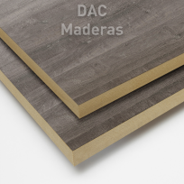 Melamina s/mdf 18mm ROBLE WR GRIS MARRON  (H1313) 260x183