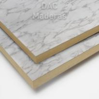 Melamina s / Aglo 18mm Carrara 260x183cm