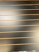 Panel Ranurado Negro 18mm 275x183cm
